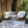 Cane-Line Nest 2-Seater Outdoor Sofa Natural