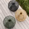 Cane-Line Nest Outdoor Footstool Small Dia. 67Cm Dark Green
