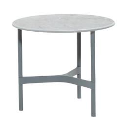 Cane-Line Twist Coffee Table Small Aluminium