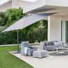 Cane-Line Hyde Lux Tilt Parasol 3 m x 3 m including base