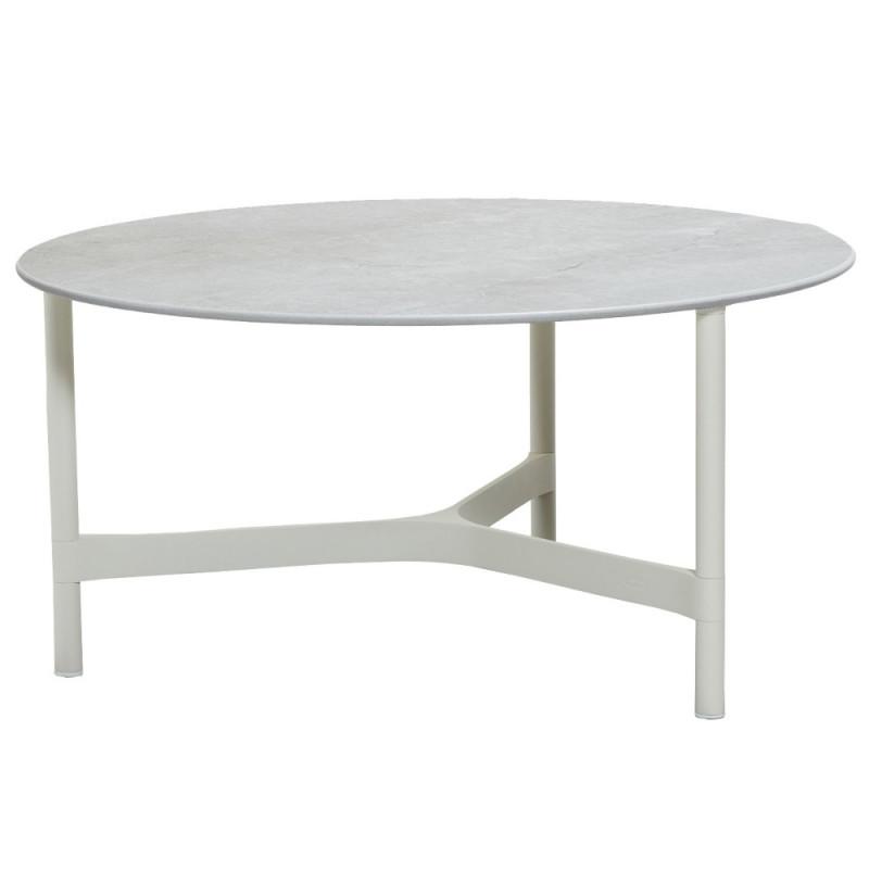 Cane-Line Twist Coffee Table Large Aluminium
