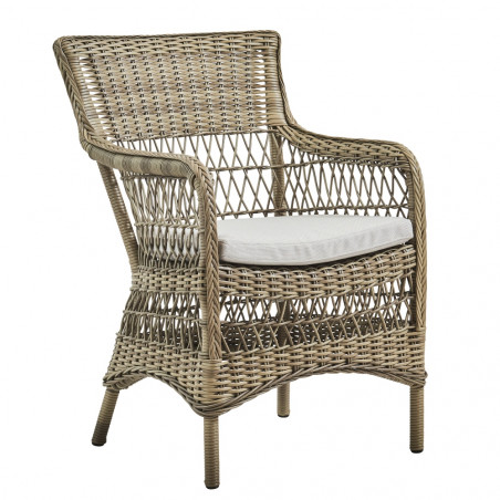 Sika Design Marie Exterior Arm Chair - Antique Grey