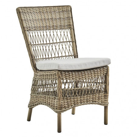 Sika Design Marie Exterior Side Chair - Antique Grey