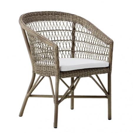 Sika Design Emma Exterior Chair - Antique Grey