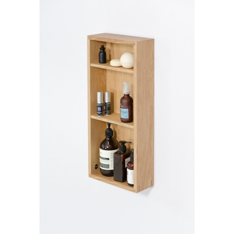 Wireworks Slimline Box Shelf Natural Oak