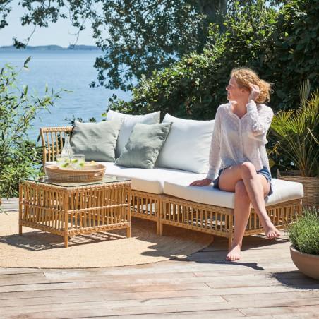 Sika Design Maggie Pouf Module Sofa - Natural