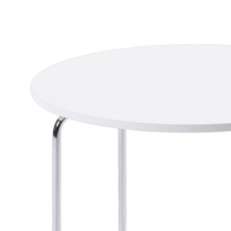 Childs Round White Table