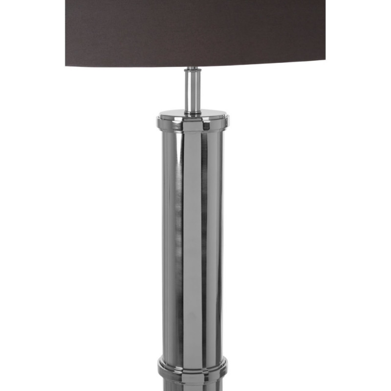 Table Lamp with Wide Tubular Base