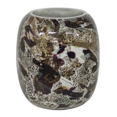 Dome Deco Glass Vase Multicolor Small