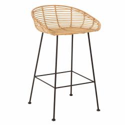 Bloomingville Tabitta Bar Chair - Nature Rattan