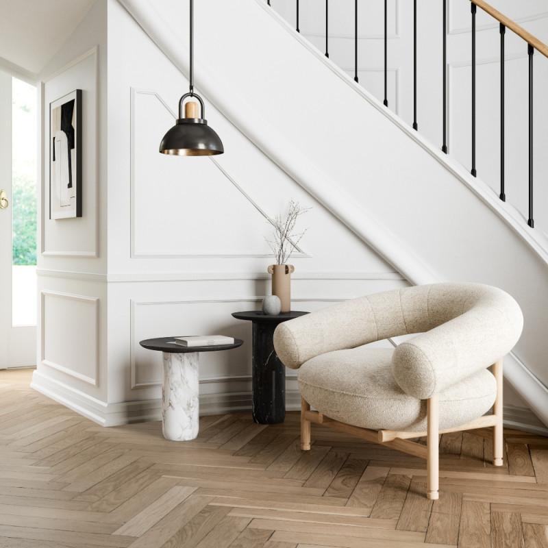 Wewood Loop Armchair with Oak or Walnut Frame