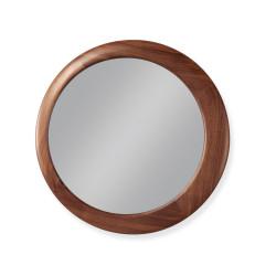 Wewood Luna Mirrors with Oak or Walnut Frame