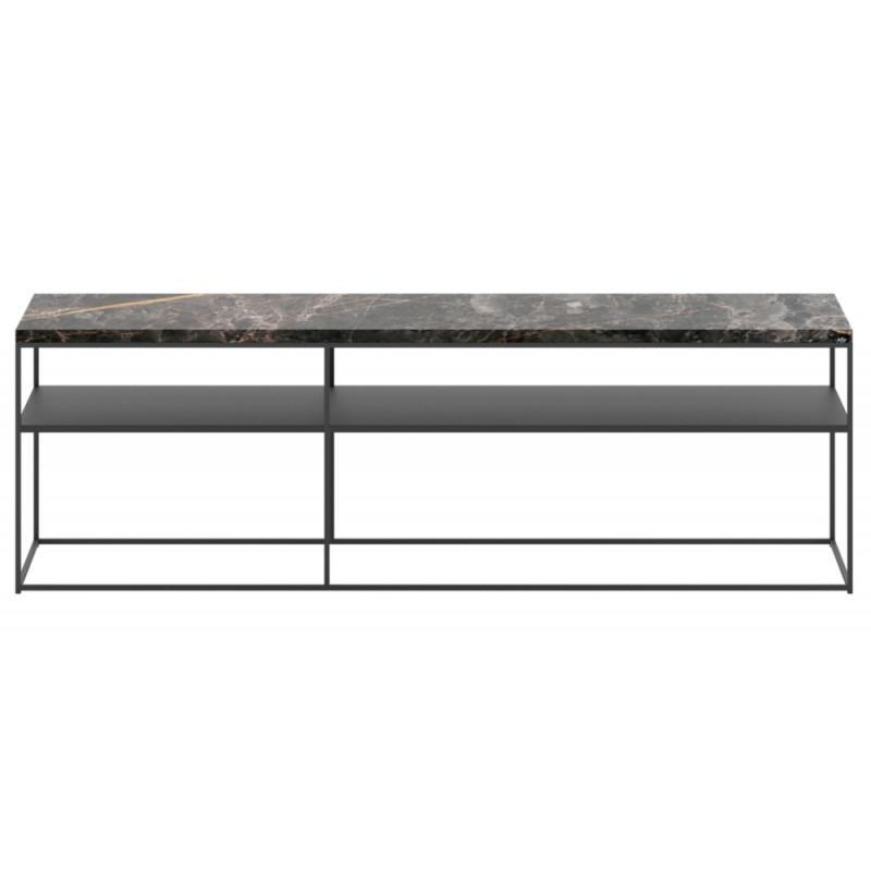 Dome Deco Geneva Console Table Marble Black