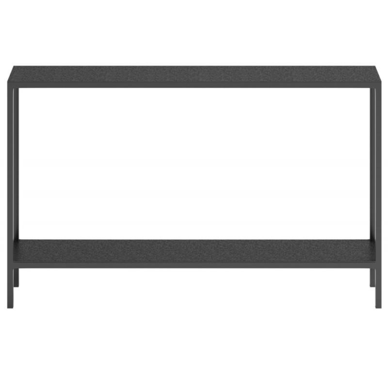 Dome Deco Mau Console Table Graphite Finish