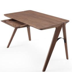 Wewood Bridge Desk with Oak or Walnut Frame