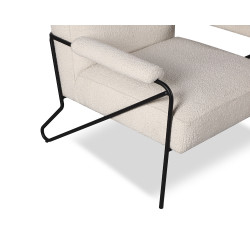 Liang & Eimil Kemper Occasional Chair in Boucle Sand Fabric