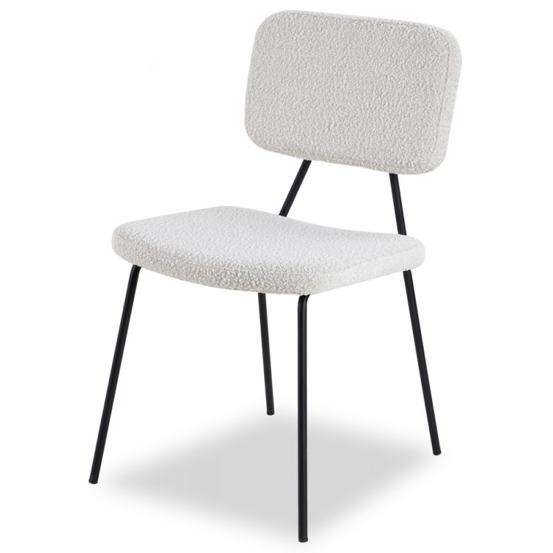 Liang & Eimil Tatini Dining Chair - Boucle Sand (Set Of 2)