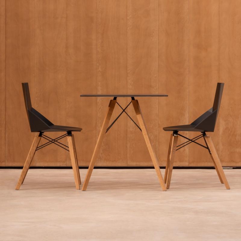 Vondom Faz Wood Dining Chair
