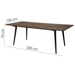 Dan-Form Bone Dining Table