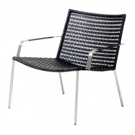 Cane-Line Straw Lounge Chair Flat Weave Stackable