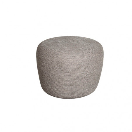 Cane-Line Circle Footstool Small Conic Soft Rope