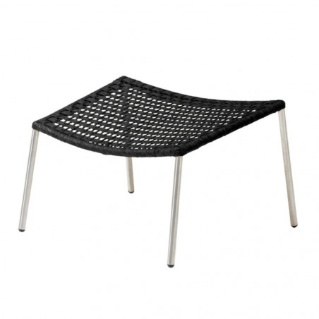 Cane-Line Straw Footstool Flat Weave Stackable