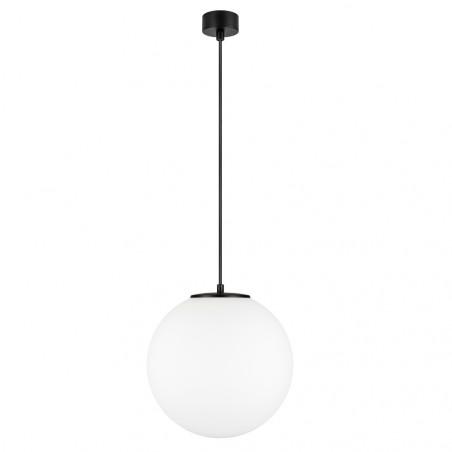 Sotto Luce Tsuki L 1/S Pendant Light - Matte Opal | Black