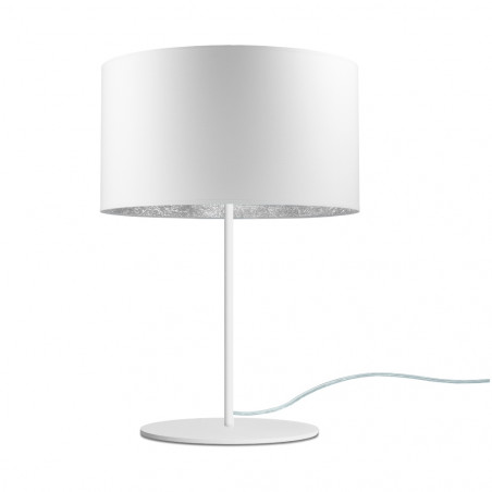 Sotto Luce Mika M 1/T Table Lamp - White Silver