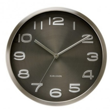 Karlsson Black Maxie Wall Clock