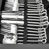Polished Knot 24 Piece Cutlery Set from Culinary Concepts