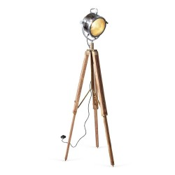Culinary Concepts Spotlight With Wooden Tripod