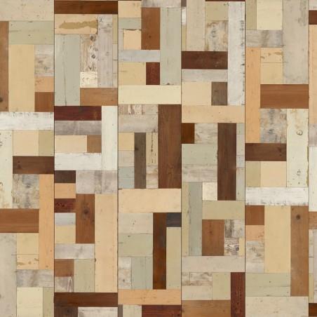 Scrapwood Wallpaper Design 6