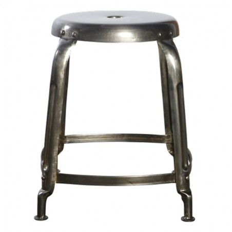 House Doctor Define Stool | Row Iron Finish