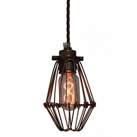 Industrial Cage Pendant
