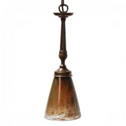 Sheena Antique Brass Pendant