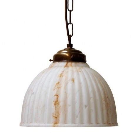 Mullan Lighting Birdston Marbled Glass Pendant