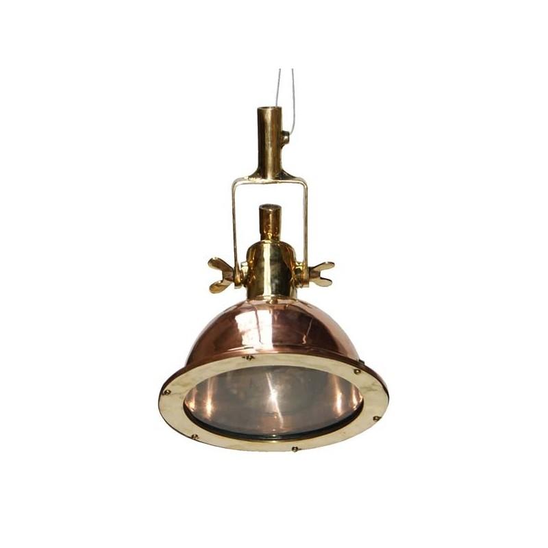 Small Copper Cargo Light