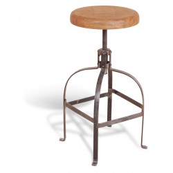 Lagoon Industrial Screw Stool