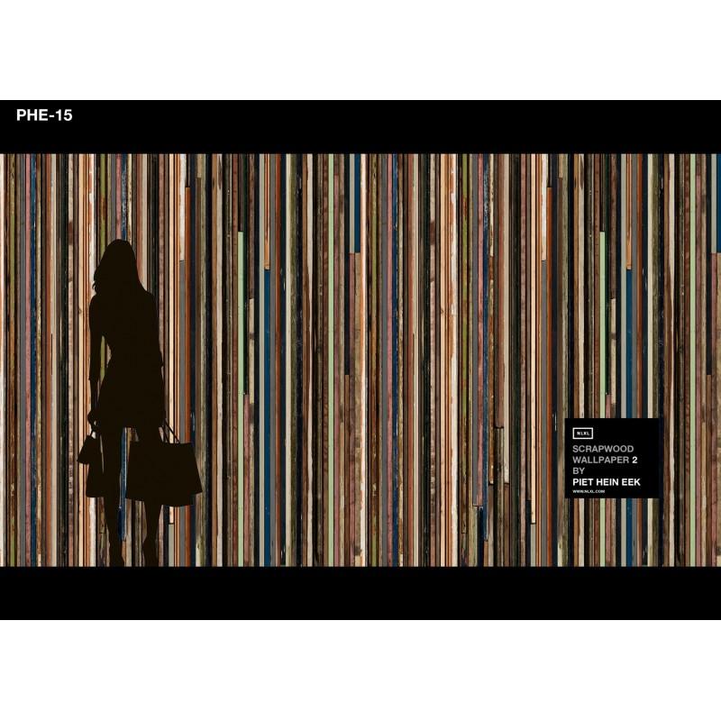 Scrapwood Wallpaper Design 15