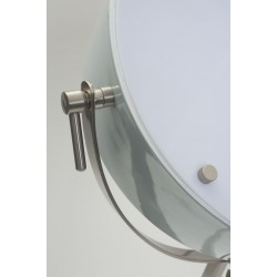Satin Nickel Photographer Style Spotlight Floor Lamp