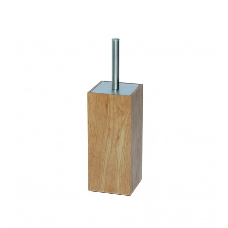 Wireworks Contemporary Oak Toilet Brush Mezza
