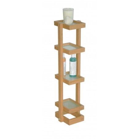 Wireworks Contemporary Oak Washstand Mezza