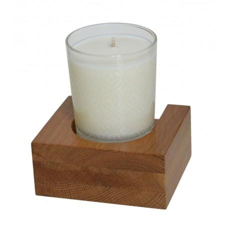Wireworks Solid Oak Candle / Tumbler Shelf