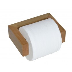 Wireworks Solid Oak Wall Toilet Roll Holder