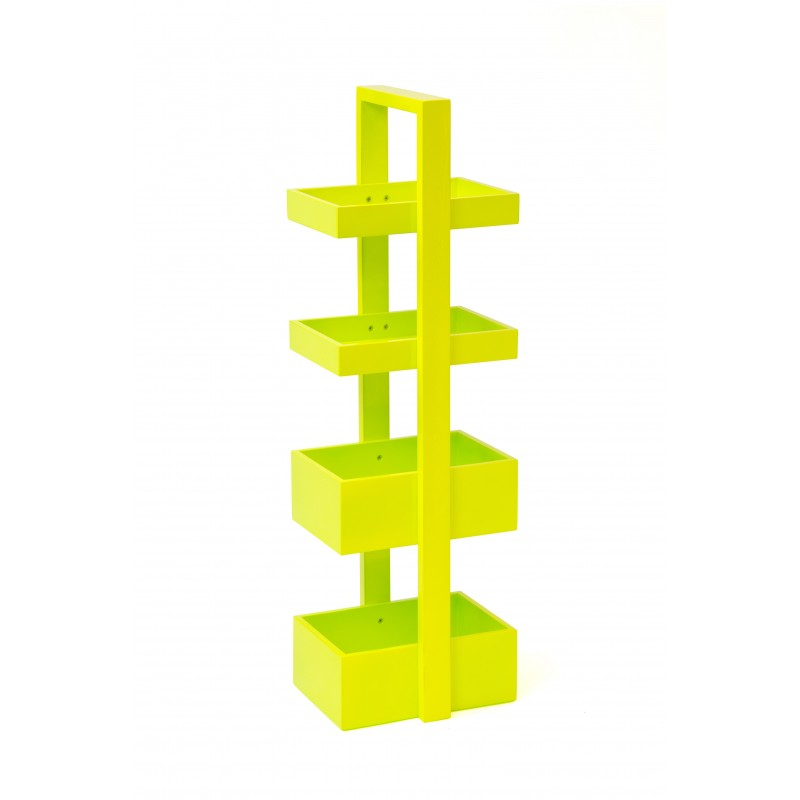 Wireworks Lime Caddy 4 Trays Storage