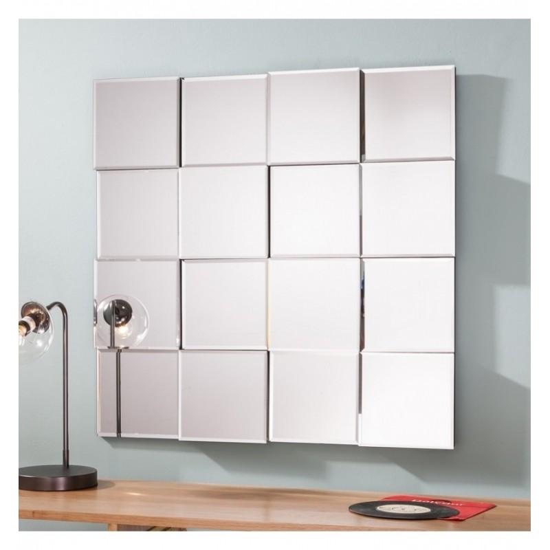 Kafka Square Modern Multi-Panel Mirror