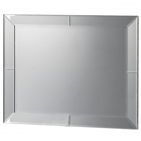 Portobello Modern Rectangular Bevelled Mirror