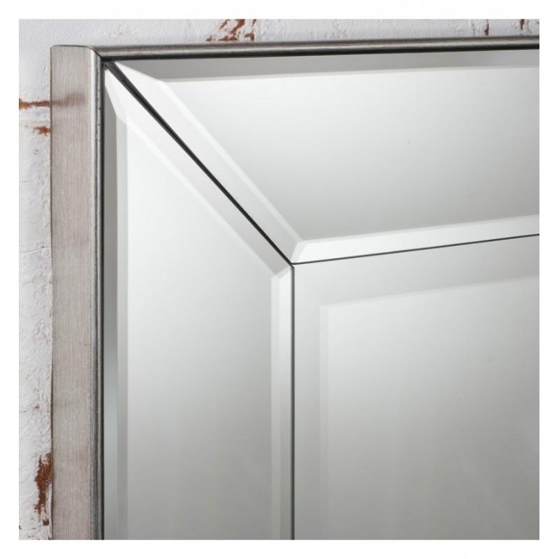 "Portobello Tall Rectangular Bevelled Mirror 53"" x 23.5"""