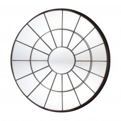 "Forge Designer Mirror Industrial Window Style 39.5"""