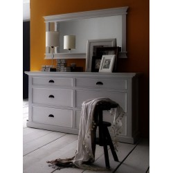 Halifax Painted Mahogany 6 Drawer Chest Of Drawers